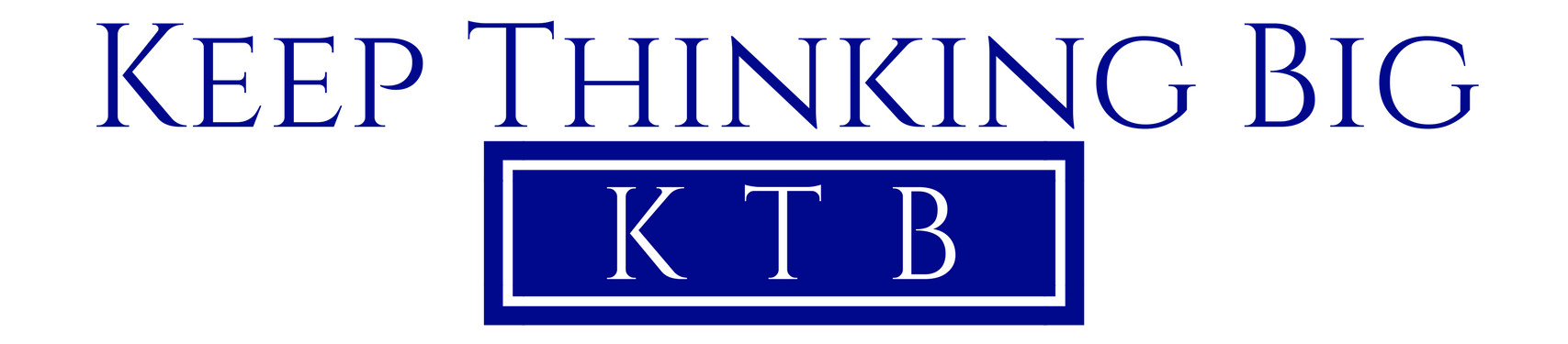 Keep Thinking Big Logo