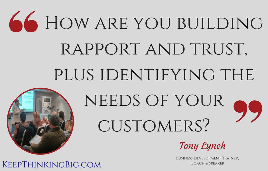 CMO Tony Lynch Keep Thinking Big
