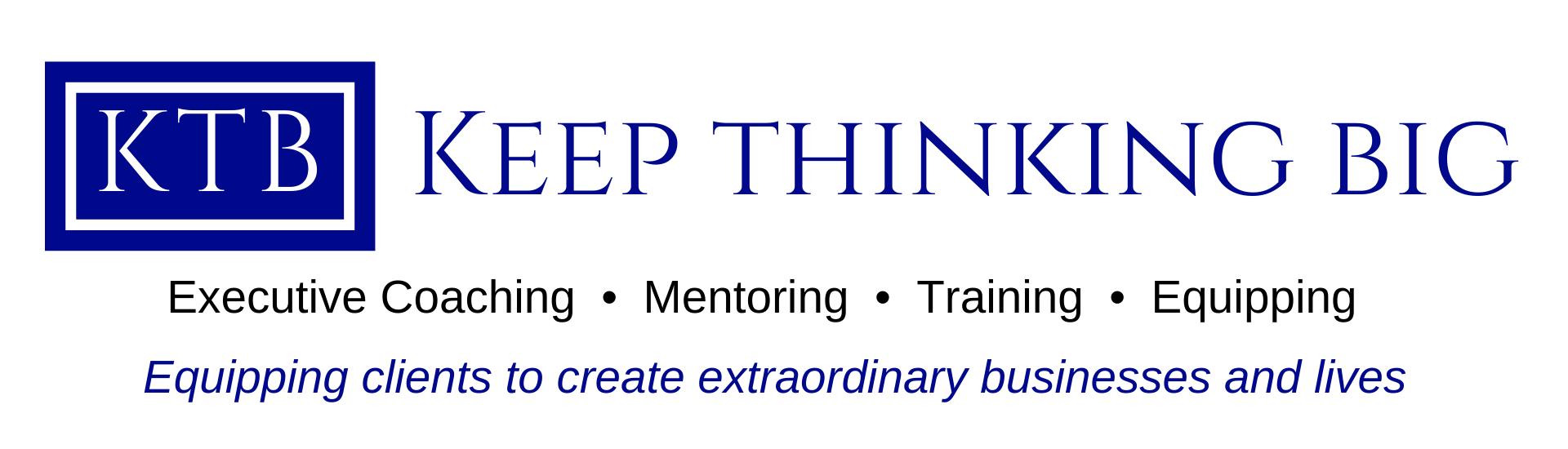 Keep Thinking Big Logo